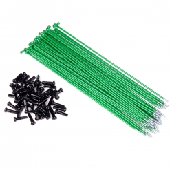 34r spokes green 186mm