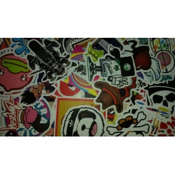 Sticker bombing pack
