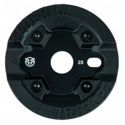 Federal Impack sprocket with guard black 25T