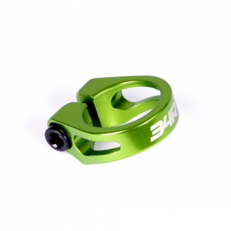 34R seat post clamp green
