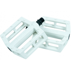 Federal contact pedals white