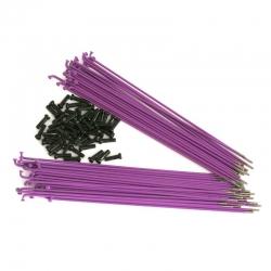 34R spokes purple 186mm