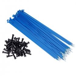 34r spokes blue 186mm