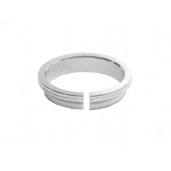 integrated headset compression ring