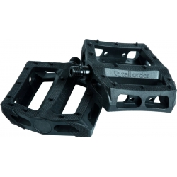 Tall order catch plastic pedals black