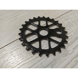 25T sprocket black