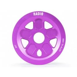 Radio bikes 47 guard sprocket 25T purple
