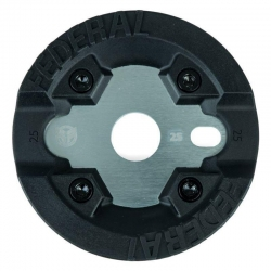 Federal impact guard sprocket 25T silver