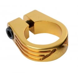 Mankind seat clamp gold