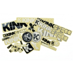 Kink bmx sticker pack